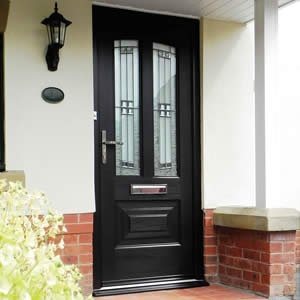 Composite door installation in Cumbria