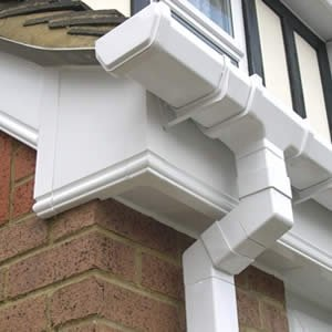Roofline plastics, gutters, downpipes & fascias in Cumbria