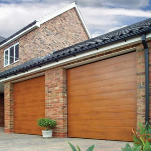 Sectional garage door Cumbria