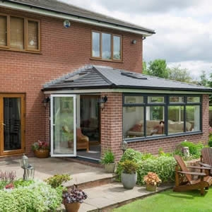 Warm roof conservatory Cumbria