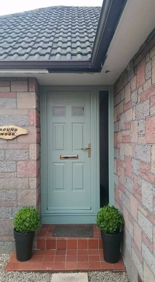 Chartwell Green Rockdoor - Regency door & S/P
